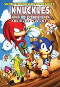 """Knuckles the Echidna """"ARCHIVES"""" - Vol #3. Buy it now at the Archie Comics online store!"""