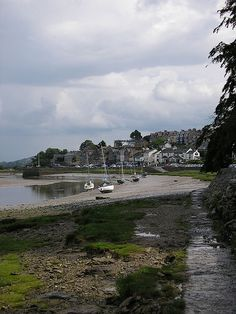 Arnside town from the water front [shared]