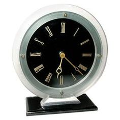Art Deco Modernist Electric Clock by Temco