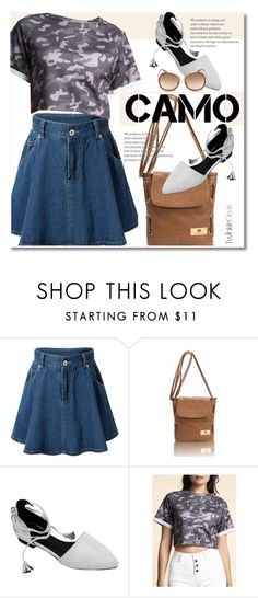 """Go Como"" by svijetlana ❤ liked on Polyvore featuring polyvoreeditorial, camostyle and twinkledeals"