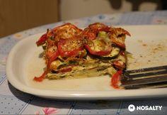 Mediterrán rakott zöldség | NOSALTY Ratatouille, Vegetable Recipes, Cooking Recipes, Beef, Chicken, Vegetables, Breakfast, Health, Ethnic Recipes
