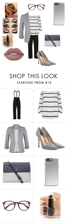 """""""Uni interview"""" by beautasticforev ❤ liked on Polyvore featuring Temperley London, Mint Velvet, Miss Selfridge, Gianvito Rossi, Dorothy Perkins and Cirque Colors"""