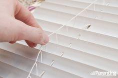 allParenting DIY Roman shade step 12