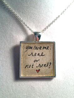 Spoiler- Hunger Games Quote Hand Painted Pendant by loveandwhiskers, $22.00 I NEED THIS