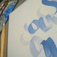 Nouvelle calligraphie en cours... . . . #calligraphie #CalligraphieLatine #CalligraphieModerne #CalligraphieContemporaine  #aquarelle #TravailEnCours . #calligraphy #LatinCalligraphy #ModerneCalligraphy #ContemporaryCalligraphy #watercolor #watercolour #wip #WorkInProgress Watercolour, Calligraphy, Modern Calligraphy, Work In Process, Color Pencil Picture, Latin Dance, Sketch, Artist, Paint