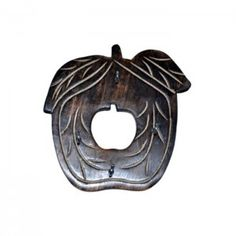 Wooden Antique Apple Shape Key Holder
