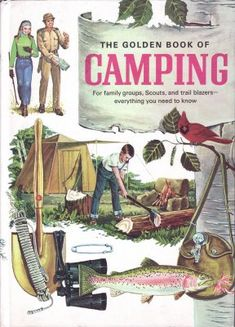 I just love vintage camping books.