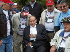 The 2011 Honor Flight participants meet Senator Bob Dole in Washington DC. Nationwide Insurance was proud to be a sponsor of this year's flight.