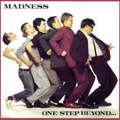 One Step Beyond. is the 1979 debut album by the British ska group Madness, bought it loved it Greatest Album Covers, Iconic Album Covers, Classic Album Covers, Music Album Covers, Music Albums, Lps, Eighties Music, Ska Music, Music Icon
