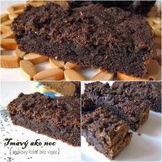 Mondo al Dente: Tmavý ako noc (makový koláč bez vajec) Desserts, Al Dente, Basket, Tailgate Desserts, Deserts, Postres, Dessert, Plated Desserts