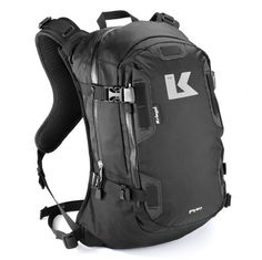 Motorcycle backpack - Kevin still uses his backpack from high school and sometimes it opens without him knowing. Something that fits with the style of The Stig. :)
