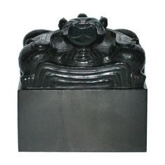 An Important Imperial Spinach Green Jade Seal, Ming Dynasty, Hongwu period (1368-1398)
