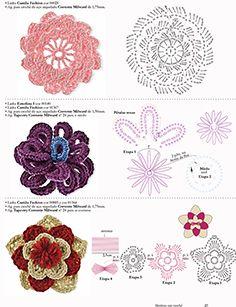 Flores em crochê pág. 1
