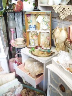 shabby chic at peddlers place in lapeer Michigan....
