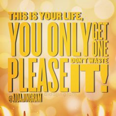 Don't waste your life on trivial things your work is way too important for that focus on what matters and let the other things go. #motivation #love #purpose