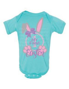 My First Easter Onesie Girl or Boy by UnlimitedImprints on Etsy