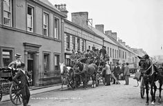 Old Photographs, Old Photos, Historical Fiction, Belfast, Days Out, Typewriter, Countryside, Street View, Europe
