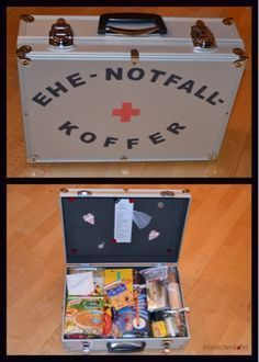 Mariechenkäfer: Die Liebe, die Liebe... in einem Koffer...