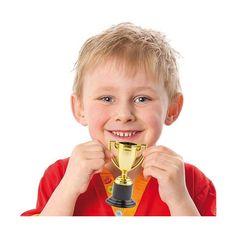 Mini Trofeo argento/oro Rinforzo positivo per bambini e adolescenti