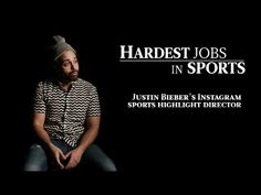 – The Internet is fullof Sports Highlights, some good, some bad. But the worst has to be Justin Bieber's Instagram Sports Highlights. And I'm the guy who directs them. (dramatic music) Directing Justin Bieber'sInstagram Sports Highlights is challenging. He is very bad at...