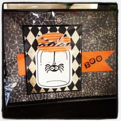 Halloween - used the Stampin up Perfectly Preserved along with the Framelits dies & Googly Ghouls stamp set
