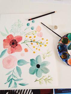 Jenna Rainey // Mon Voir - Floral pieces
