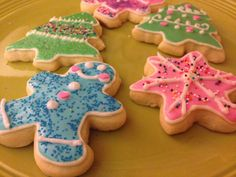 Easy, Cake Mix Sugar Cookies!  (Roll out & Cut out friendly!).  Great Royal Icing Recipe included for decorating!