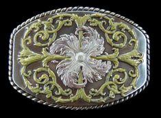 Flower Western Cowboys Cowgirls Flowers Floral  Cool Fashion Belt Buckles #flower #flowerpower #flowerbuckle #flowerbeltbuckles #buckles #floral #beltbuckles