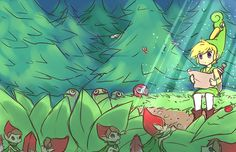 Picori / #Zelda The Minish Cap