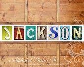 Jackson (Name Print by Java Jane Designs)