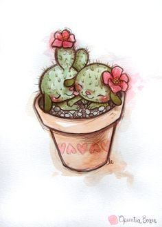 Opuntia Boxer 2 by ~lindsaycampbell on deviantART