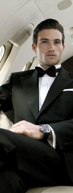 Inna Erten                                                                                                                                                     More Sharp Dressed Man, Well Dressed Men, Men Formal, Smoking, Suit And Tie, Gentleman Style, Stylish Men, Mens Suits, Men Dress