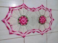 Jogo de Banheiro em Crochê -Tapete Pia # Flor Jade - YouTube