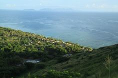 At the top of Vomo island