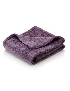 Lilac Luxurious Chenille Throw