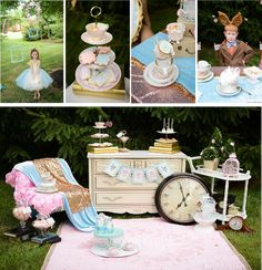 Sweetly Chic Events & Design Mad Hatter Tea Party