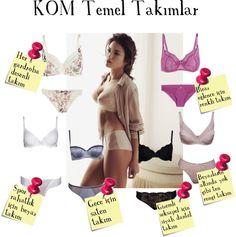 """KOM Basic Bra Sets"" by fashistanbuller on Polyvore"