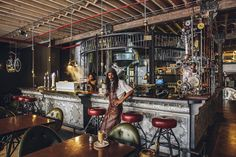 A Cape Town Shop Promotes Excellent Coffee Through A Steampunk Design