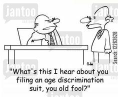 age discrimination cartoons - Humor from Jantoo Cartoons
