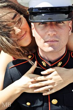 Such a great shoot with a Marine and his future wife! @Sarah Plowfield