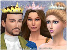 Royal Crown (Hat) by alin2 at TSR via Sims 4 Updates