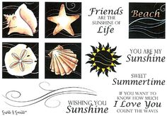 Stamp Set 431 - Summer Swirl