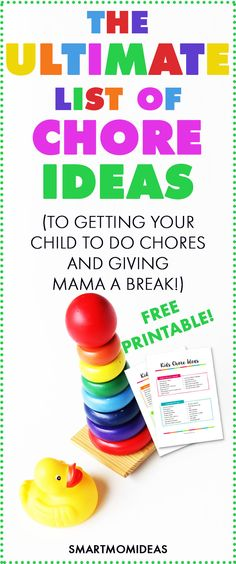 Yes! Finally! This chore printable free chart is perfect for my toddler. Whether you need chores for kids by age or chores for teens, this chore printables for kids is perfect. I don't know about you, but I don't want to make chores a bothersome task. With this it's super fun!