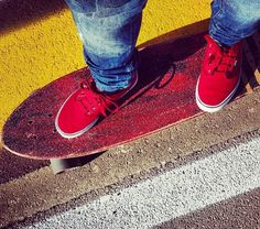 Loving Red Vans!!!  Must have all my fav's #vansgirls