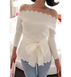 Camisa Feminina Branca Sexy Boat