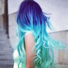 I'm hoping I can dye the bottom half of my hair like this for school, and then in 8th grade...full head >D