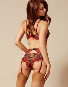 36bb61cb9c Shop The Savanna Brief In Rust By Agent Provocateur. Discover The Soiree 2016  Lingerie