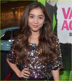 Rowan Blanchard is so gorgeous and really inspirational she has an amazing personality who couldn't love her