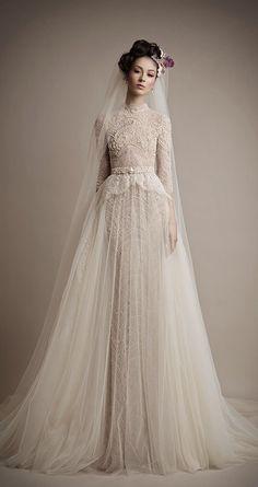 30 Chic Long Sleeve Wedding Dresses…
