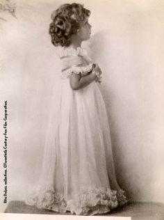 Shirley Temple Flower Girl Photos